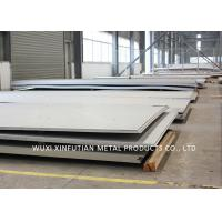 Buy cheap Hairline 304 Stainless Steel Hot Plate , Stainless Sheet Metal For Food Equipment product