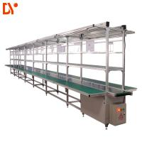 Buy cheap Aluminium Assembly Line Conveyor LED Light Assembly Line Equipment With PVC Conveyor Belt product