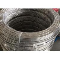 Buy cheap Round / Square Bending Stainless Steel Tubing Into Coil Length Customized product