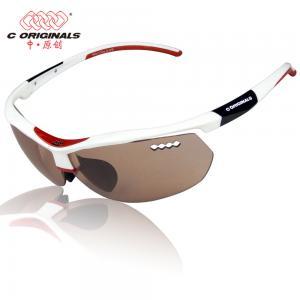 China Ultraviolet - Proof Lens for Bicycle Helmet / Color Adjustable Sport Sunglasses for Biking wholesale