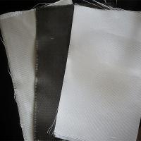 China Dust / Air / Powder Filtration Filter Press Cloth 360gsm E Glass Non Alkali Graphite Fiberglass Cloth on sale
