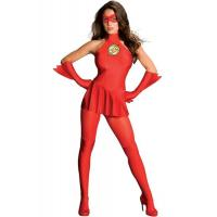 China Hero Costumes Wholesale Spandex Red The Flash Costume with size S to XXL on sale