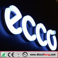 Buy cheap Custom outdoor any font laser engraved 3D led acrylic alphabet letter, standing ABS alphab product