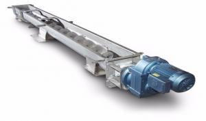 Buy cheap Stainless Steel Shaftless Screw Auger Conveyor For Sludge Treatment product