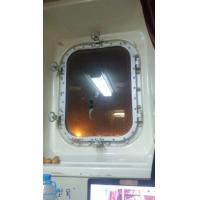 Buy cheap Marine Steel Bolted & Welding Cabin Windows , Rectangular Windows With Round Angle product