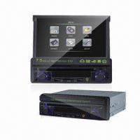 China 7.5-inch In-dash Car DVD Player with MPEG-4, Game, AM, FM, Card Reader and USB Function on sale