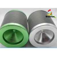 Buy cheap Colorful Aluminum Flange Carbon 38mm Air Filter Cartridge With 38mm Carbon Bed product
