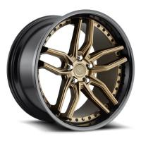 Buy cheap 20 21 22 inch forged 2 piece alloy wheel 5*130,5*114.3 custom rims product