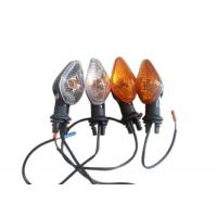 China 2014 Titan150 Motorcycle Winker Light Flasher 12v Class A Orange / White Color on sale