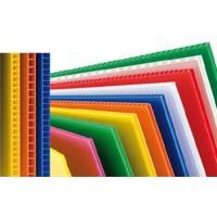 Buy cheap Custom Reusable PP Plastic Corrugated Plastic Sheets For Packing Box / Billboard from wholesalers