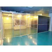 Buy cheap Class 100 Hard Wall Modular Clean Room Equipment For Laboratory , Long Use Time product