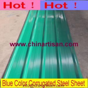 Buy cheap Colorez la feuille en acier ondulée enduite de toiture product