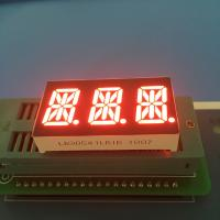 """Buy cheap 0.54"""" 3 Digit 14 Segment LED Display Alphanumeric Super Bright Red LED Color product"""