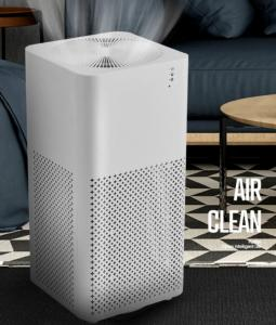 Buy cheap 220v Countertop Household Air Purifier Small Desktop Negative Ion product