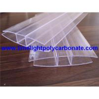 Buy cheap Polycarbonate sheet profiles/accessories, pc H profile/accessories, PC-H profile, pc H-Profiles product