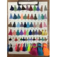 2017 Wholesale Graduation Tassel Fringe In Stock 30mm Cotton Tassel Garland Trim