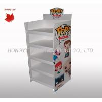 Buy cheap Silk Screen Rigid Cardboard Display Stands , Gift Display Racks 5 Layers product