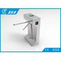 Security Semi - automatic Tripod Turnstile Gate For Stadium Control Pedestrian