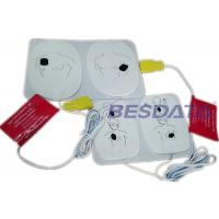 China Disposable AED Replacement Pads , AED Electrode Pads For Defibrillator Training on sale