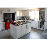 Buy cheap American type solid wood kitchen cabinet, kitchen storage cabinet product