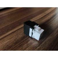 China Grau Cat6a Jack trapezoide de UTP 180, ferramenta material Jack trapezoide livre do PC wholesale