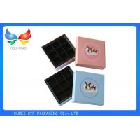 China Coated Paper Luxury Packaging Boxes , Empty Chocolate Gift Boxes Packaging wholesale