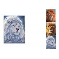 China PET / PP Wild Animal Lenticular Flip Effect / 3D Lenticular Printing Services on sale