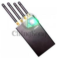 Buy cheap Mini Handheld Portable Jamming Device Mobile Phone Signal Jammer With 4 Antennas product