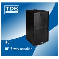 Buy cheap 15inch three-way high power horn speaker H3+ pro audio line array speaker product