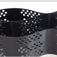 Buy cheap Smooth Surface HDPE Geocell 100mm Height  Black Color With Hole product