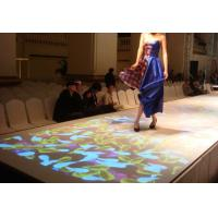Buy cheap Interactive Floor System for Advertising , Wedding Decoration , 3D Mapping Projection product