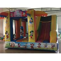 Buy cheap PVC Tarpaulin 3 In 1 Inflatable Bouncer Combo Multi Color Widely Placed In Parks product
