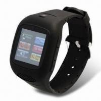 Buy cheap Touchscreen Watch Phone, Supports Up to 32GB Memory T-Flash Card, with Built-in Bluetooth product