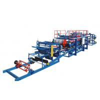 Buy cheap EPS Sandwich Panel Production Line PU / Foam Coated For Different Colors product
