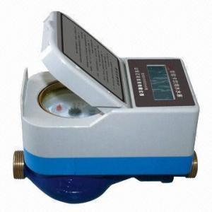 Buy cheap Contador del agua de la tarjeta de IC con la propiedad de la bayoneta de la durabilidad product
