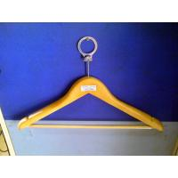 Buy cheap Flat plastic and wood garment, Spa and Hotel Clothes Hangers, Store ladies or men hanger product