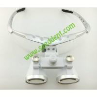 China 3.5X Magnifying Glass Surgical Dental Loupe with head light Loupe-1 on sale