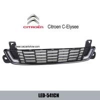 China Citroen C-Elysee DRL LED daylight driving Lights kit car light upgrade wholesale