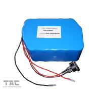 Buy cheap 12V LiFePO4 Battery Pack  f'or Street Lamp  IFR 26650 50ah With Connector product