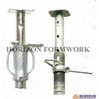 Buy cheap Adjusting Nut Scaffolding Steel Props , Steel Shuttering Props Cast Iron Sleeve from wholesalers