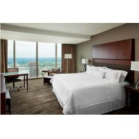 Buy cheap High End Hotel Style Bedroom Furniture / Guestroom Boutique Hotel Furniture product