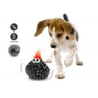 Lovely Shaking Jumping Squeaky Dog Ball , Motorized Ball Dog Toy With Batteries for sale