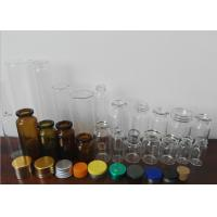 Buy cheap Amber Little Glass Vials 10mL Bottle 22mm Wide 50mm Tall With Dropper Sealing product