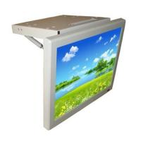 China 17 inch flip down bus lcd monitor, roof-mounted bus TV,manual bus lcd player, bus lcd screem, bus a on sale