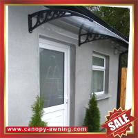 Buy cheap excellent porch window door polycarbonate pc diy awning canopy canopies shelter for cottage house building garden home product