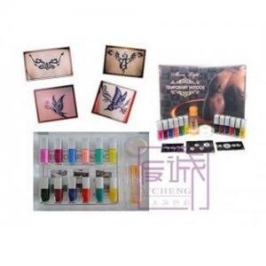 Buy cheap Jogo provisório da tatuagem do brilho da arte corporal com tinta da tatuagem de 12 cores product