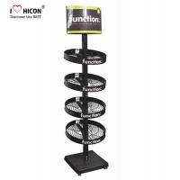 Buy cheap 4 - layer Flooring Round Shape Metal Display Rack For Monster Energy Drinks Promotion from wholesalers