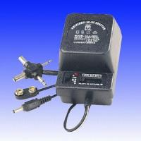 China AC/DC 500mA Adapter with AT/ET/SAA Input Plug on sale