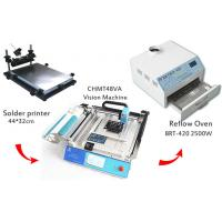 Buy cheap SMT Pick And Place Equipment 2500w Solder Reflow Oven With Surface Mount from wholesalers