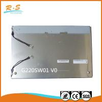 Buy cheap Industrial 22'' Auo LCD Panel display screen G220SW01 V0 1680x1050 product